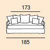 4-sits (185cm)