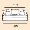 5-sits (205cm)